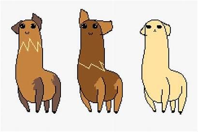 Clip Kawaii Animated Llamas Clipart Transparent Clipartkey