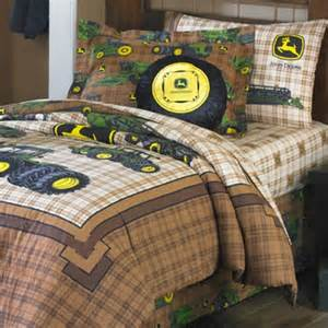 john deere traditional bedding queen bed skirt