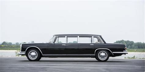 Mercedes 600 Pullman by 1965 Mercedes 600 Pullman Going Up For Auction