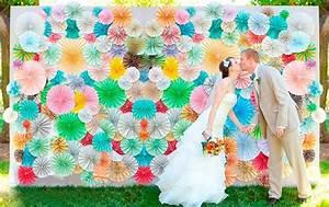 ideas para photocall casero pompones WEDDING Details Pinterest Blog y Ideas