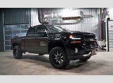Custom 2016 Chevy Silverado is the definition of Black
