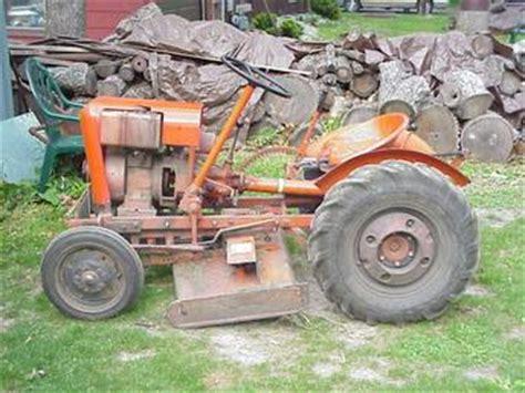 Antique Tractors Economy Power King Picture