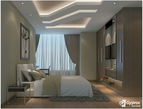 Master Bedroom Pop Ceiling Designs by Light Up Your Home With This Peaceful Serene White