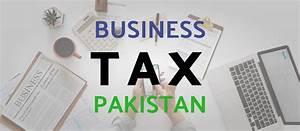 Business Tax In Pakistan