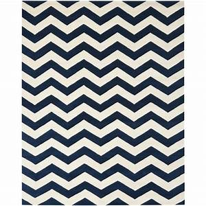Navy white chevron rug rugs ideas for Inspiration ideas for black and white rug