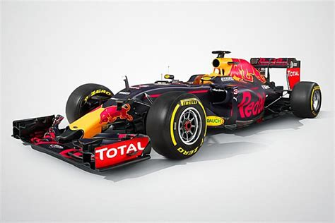 Red Bull Racing Reveals Its 2016 Formula 1 Car, The Rb12