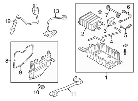 Emission Components For Ford Mustang Oem Parts