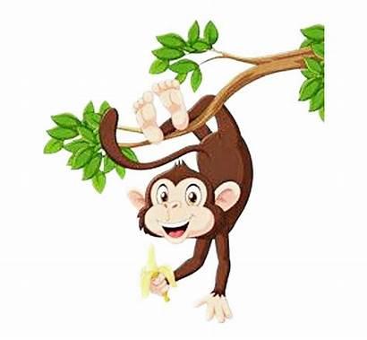 Monkey Hanging Clipart Clipground Sad