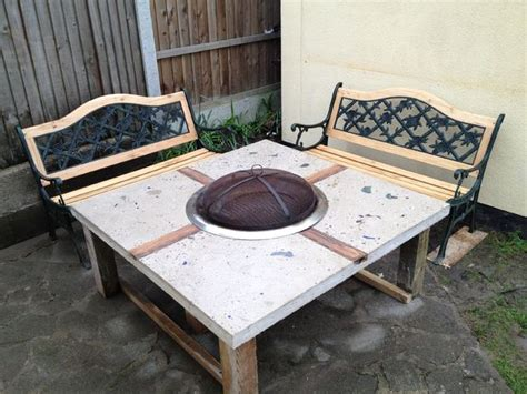 build your own fire pit table 39 diy backyard fire pit ideas you can build