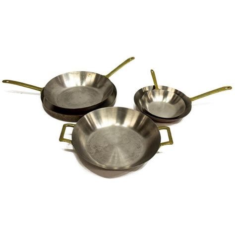 vintage paul revere limited edition copper pans set   chairish