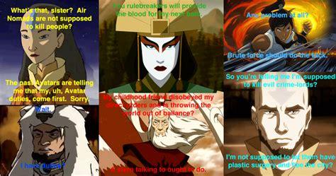 Legend Of Korra Memes - image 350609 avatar the last airbender the legend of korra know your meme