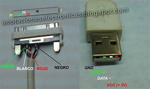 Diagrama De Cable Usb Iphone 4