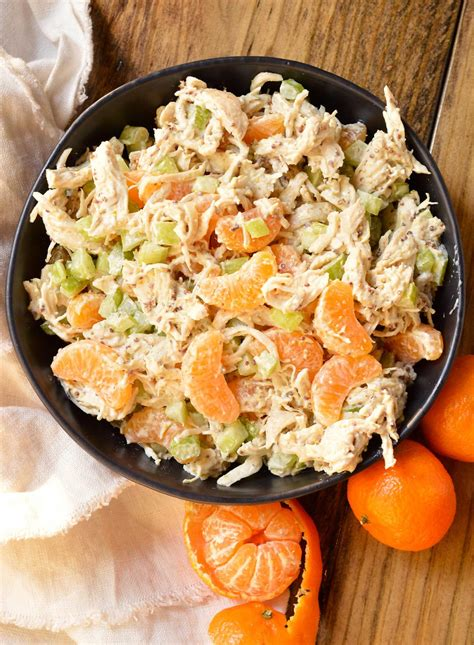 ingredient mandarin orange chicken salad recipe