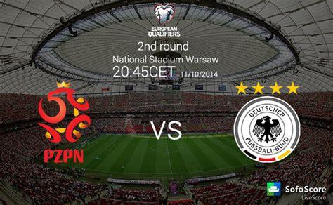 UEFA Euro Qualification 2nd round: Poland vs Germany Match ...