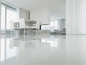 Resine Sol Blanc Brillant : r sine louvel sol en r sine ~ Premium-room.com Idées de Décoration