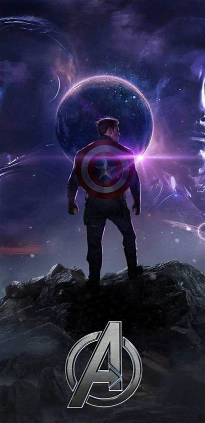 Endgame Captain America Avengers Wallpapers Marvel Iphone