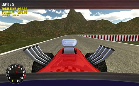 Stunt Car Racer Type Racing Game