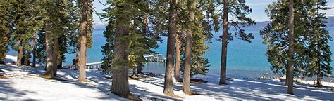 Four days in this spot about ten miles out of tahoe city. Ed Z'berg Sugar Pine Point State Park - Visit El Dorado