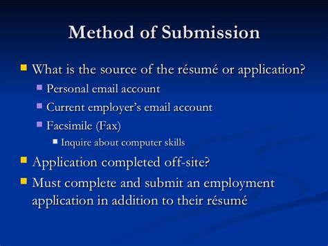 resume application review process