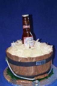 Beer Bottle Birthday Cake