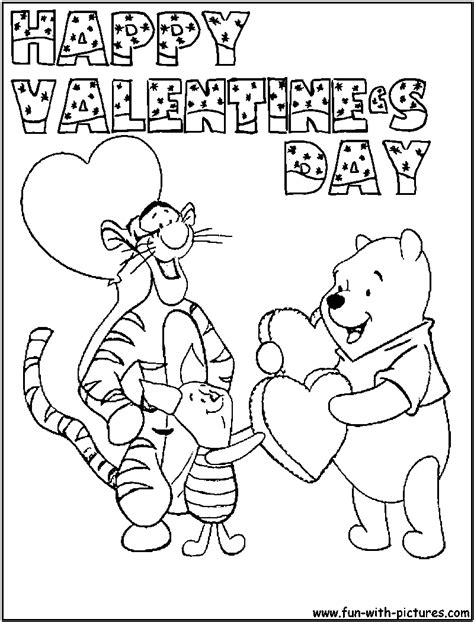 valentines day colors coloring pages valentines day free printable coloring home
