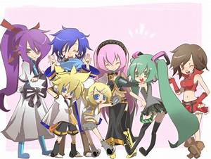 Vocaloid Chibi Wallpaper ·① WallpaperTag