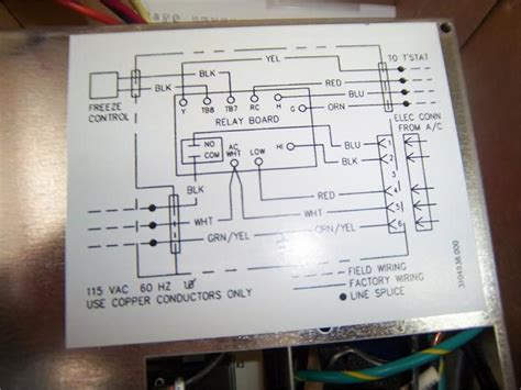 Coleman Mach Thermostat Wiring Diagram