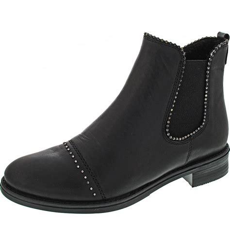 Remonte Chelsea-Boots schwarz D858701 | schuhwelt.de...