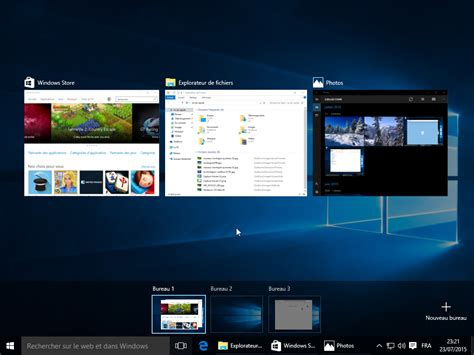 windows bureau virtuel windows 10 les nouveautés en images cnet