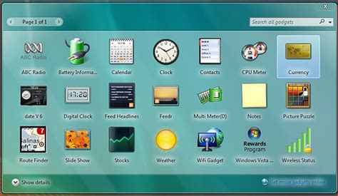 gadgets bureau windows 7 what sidebar gadget are you running frankarr an