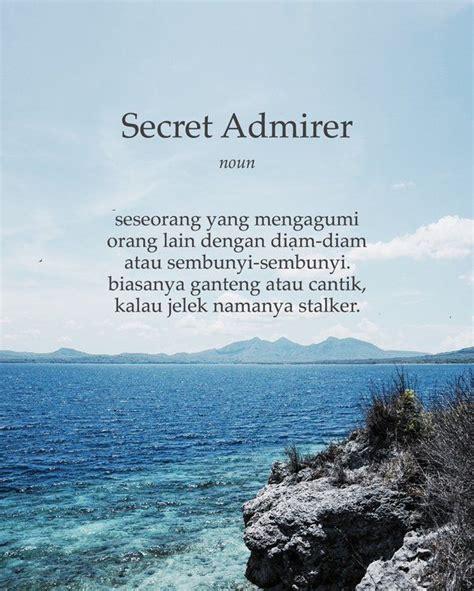 secret admirer quotes for facebook