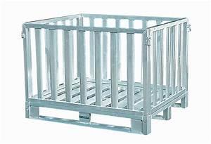 Caisse Palette Métallique : caisse palette aluminium et inox ~ Edinachiropracticcenter.com Idées de Décoration