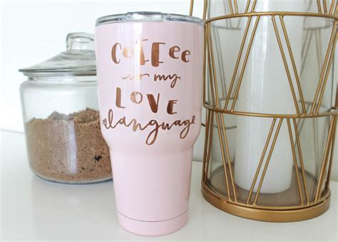 To download the files, just click on the link. Customize your coffee mug with Cricut! (With images) | Diy gifts for friends, Diy mugs, Creative ...