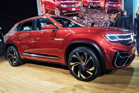 Sports For Sale by Vw Atlas Cross Sport Concept Ups The Suv Count At New York