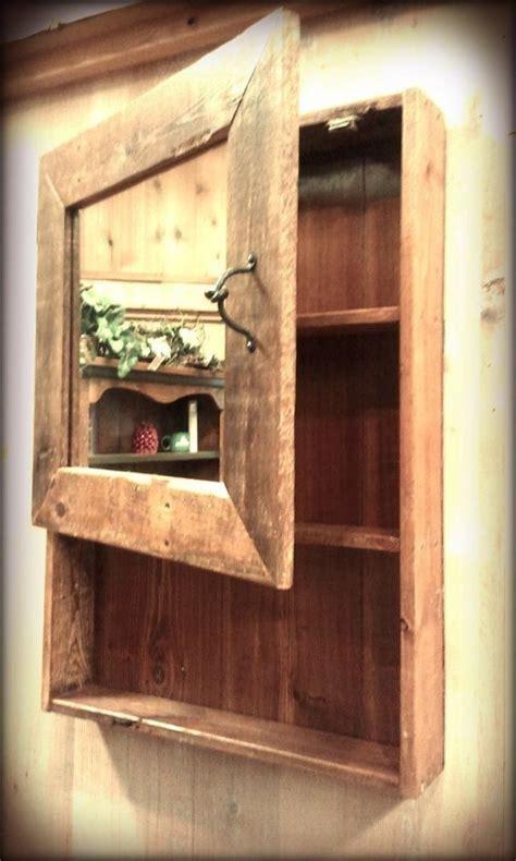 guest bathroom vanity wood medicine cabinets barn wood