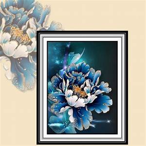Styles diy d diamond embroidery painting wall sticker