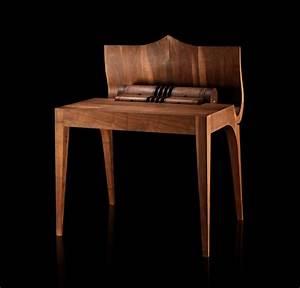 Bureau Contemporain Design : vous connaissez voltaire le bureau en bois chic et l gant ~ Teatrodelosmanantiales.com Idées de Décoration