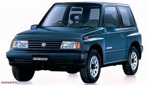 Suzuki Vitara Escudo Service Repair Manual 1988- 1998