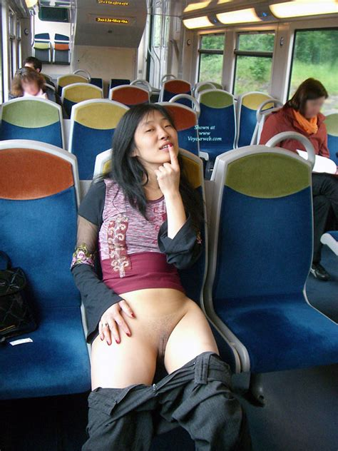Bottomless Girlfriend Naked In The Train May
