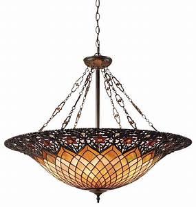 Quoizel lighting tf vb tiffany traditional pendant