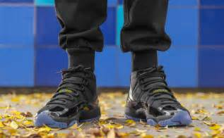 Jordan 11 Gamma Blue On Feet