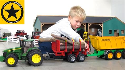 Toy Truck Videos For Children 🚜 Tractors For Kids Best Of