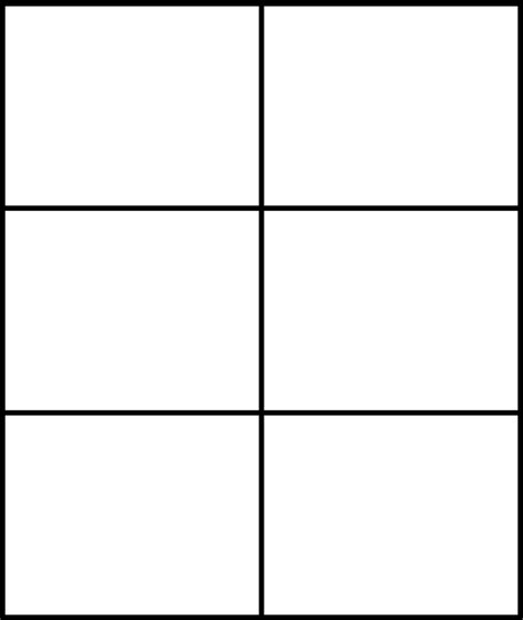 Four Panel Comic Template by Pmd Sprite Comic 6 Panel Base By Marshmallow On