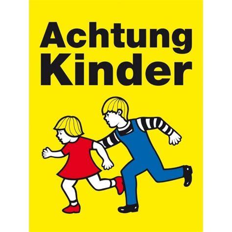 schild achtung kinder achtung kinder warnschild kommunalbedarf at