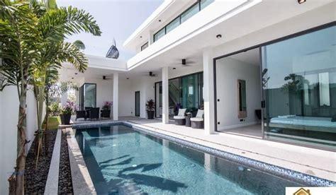 modern design hua hin private pool villa offering stunning