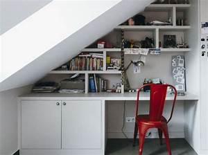 Bureau Sous Escalier : nos meilleures id es pour un coin bureau tendance elle ~ Farleysfitness.com Idées de Décoration