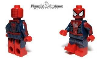 Lego Spiderman Custom Minifigures