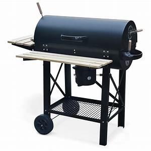 Barbecue Gaz Et Charbon : barbecue charbon serge smoker americain fumoir ~ Dailycaller-alerts.com Idées de Décoration