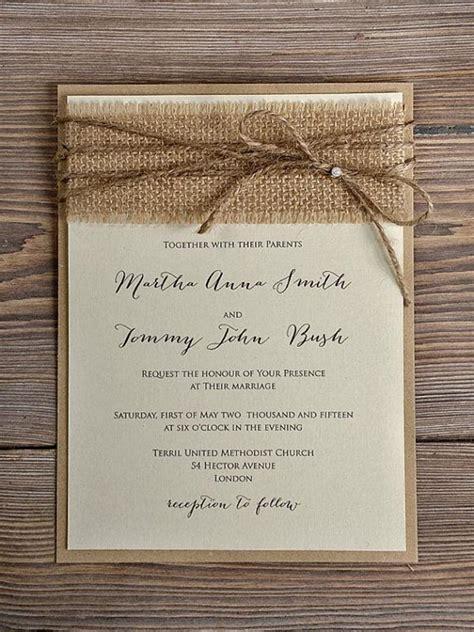 top  popular rustic wedding invitaitons idea samples