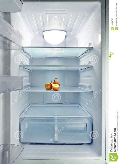 empty fridge stock photography image